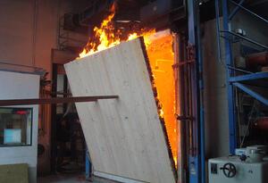 Brandversuch in Leipzig